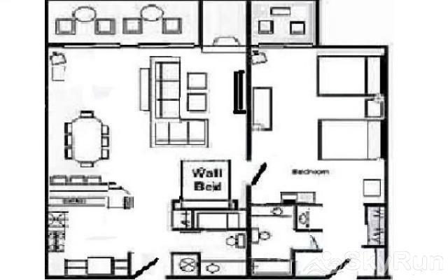 CM244 Copper Mtn Inn Floor Plan