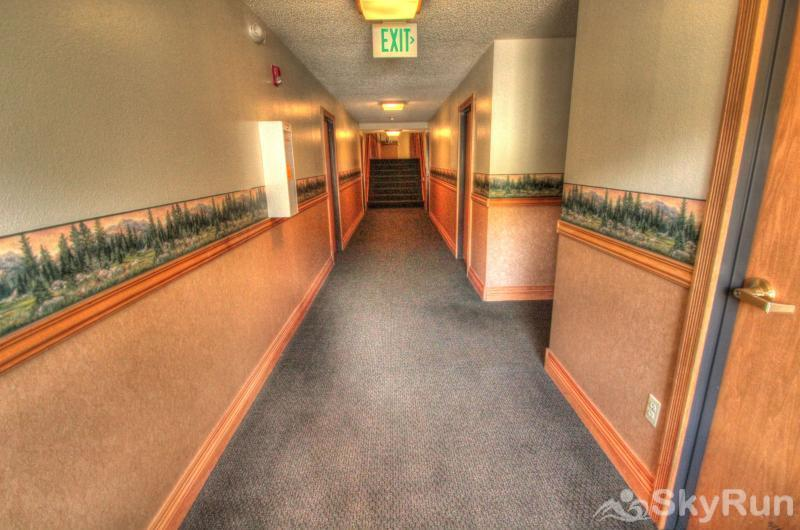 CM244 Copper Mtn Inn Newly remodeled hallways