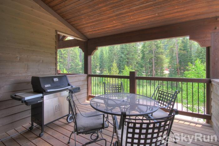 39C Union Creek Townhomes West Lovely Private Deck and Private Grill