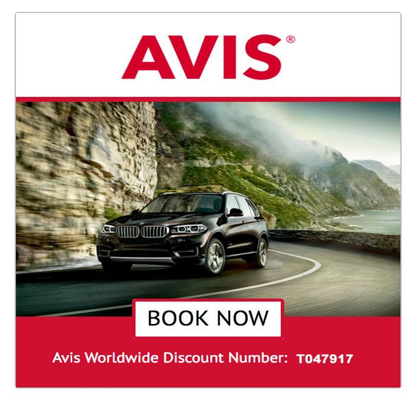 Avis Rental Car Discount