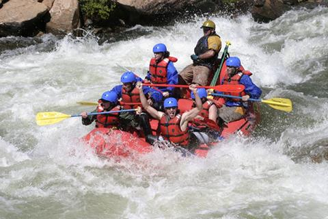 Performance Tours: Whitewater Rafting