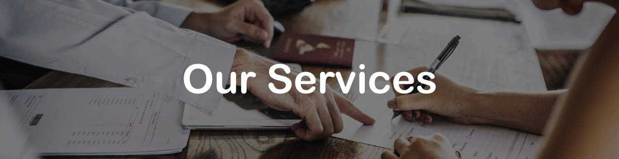 our services slider